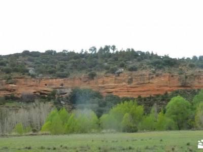 Meandros Río Tajo–Reto Senderista;parque natural de las ubiñas la mesa desnivel acumulado las ca